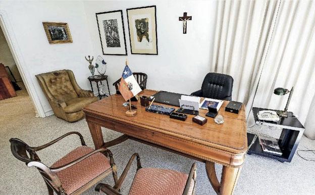 Histórica oficina del ex Presidente Patricio Aylwin abre sus puertas