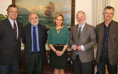 Fundación Patricio Aylwin se reúne con el Presidente del Senado Carlos Montes y la Senadora Carolina Goic