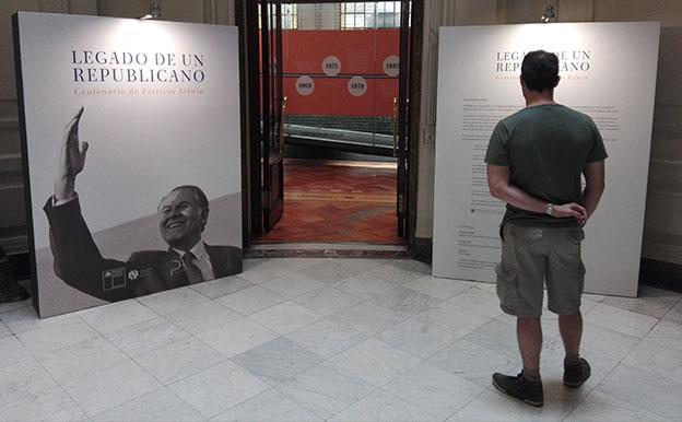 """Exposición """"Legado de un Republicano. Centenario de Patricio Aylwin"""""""