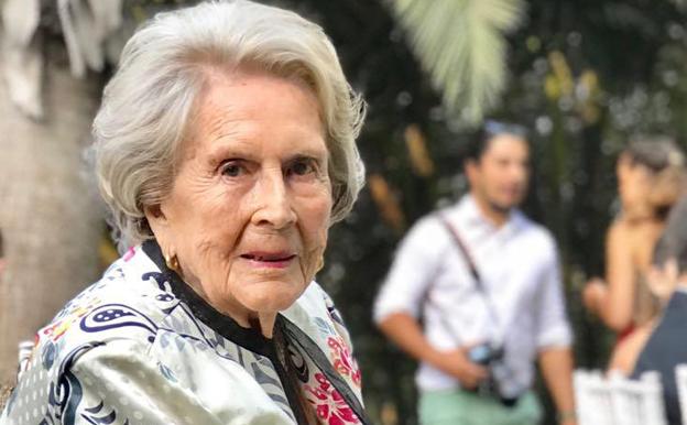 Una mujer de 100 años
