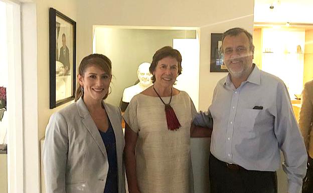 Fundación Patricio Aylwin se reúne con representante del presidente encargado de Venezuela