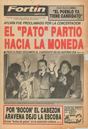 6 de julio de1989. Un día histórico para Chile.