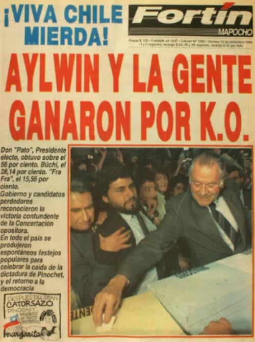 ¡Y GANÓ LA GENTE! El 14 de diciembre de 1989, los demócratas chilenos fueron más.