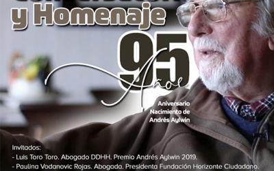 Conversatorio y homenaje a Andrés Aylwin Azócar