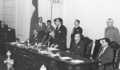 Hace 50 años, Patricio Aylwin fue elegido Presidente del Senado